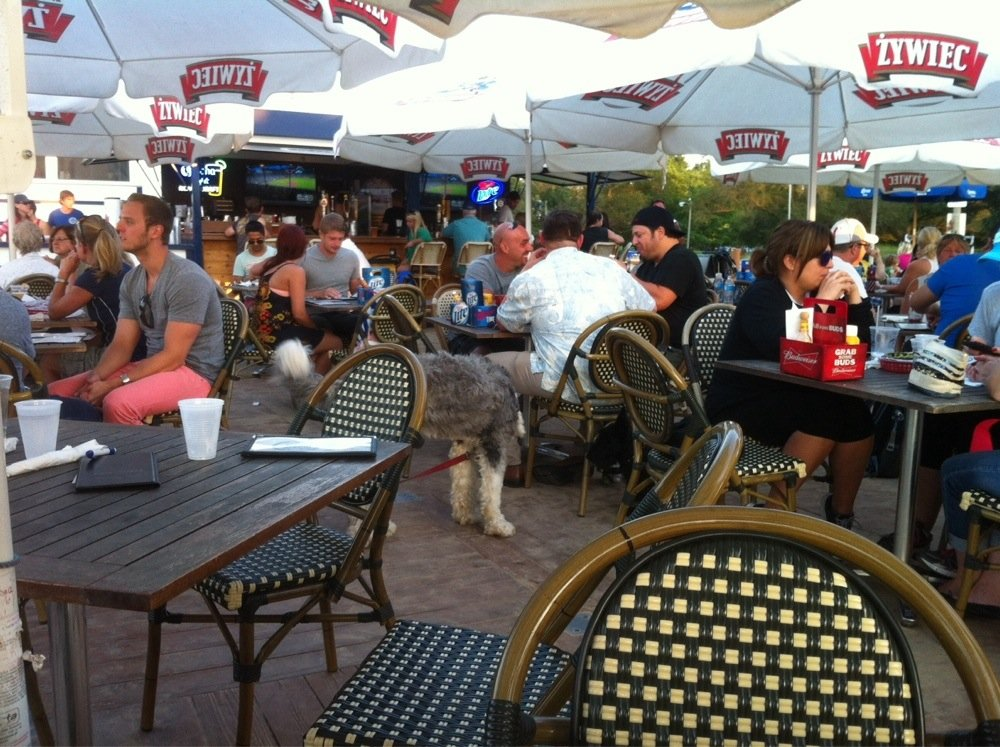 The Dock at Montrose Beach - $, Uptown, Bar Food, Lakefront, Dog Friendly