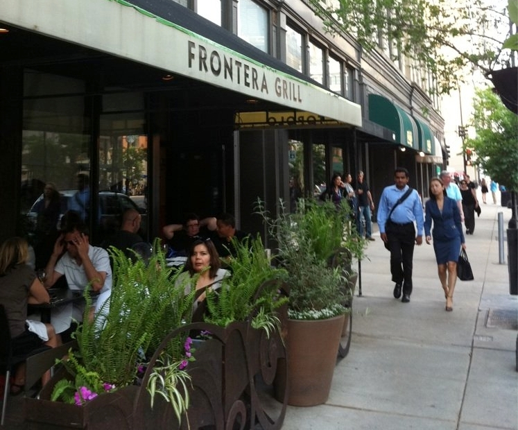 Frontera Grill - $$$, River North, Mexican,Sidewalk Seating,Dog Friendly