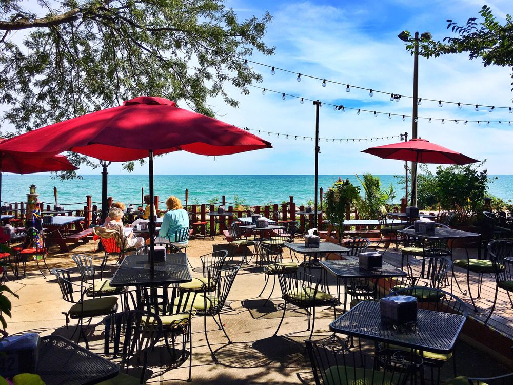Waterfront Cafe - $$, Edgewater, Bar Food, Lakefront, Dog Friendly