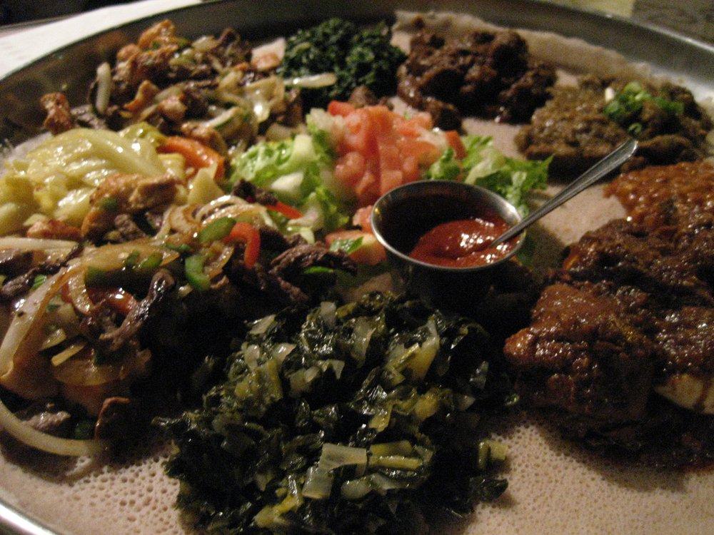 Ethiopian Diamond - $$, Rogers Park, Ethiopian, Vegetarian, Vegan, Gluten-free, Live Jazz, Delivery