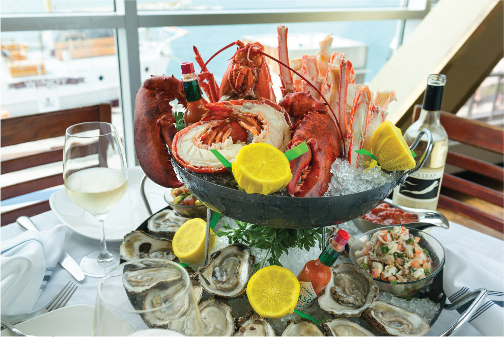 Riva Crab House - $$$, Navy Pier, Seafood, Patio Seating, Delivery
