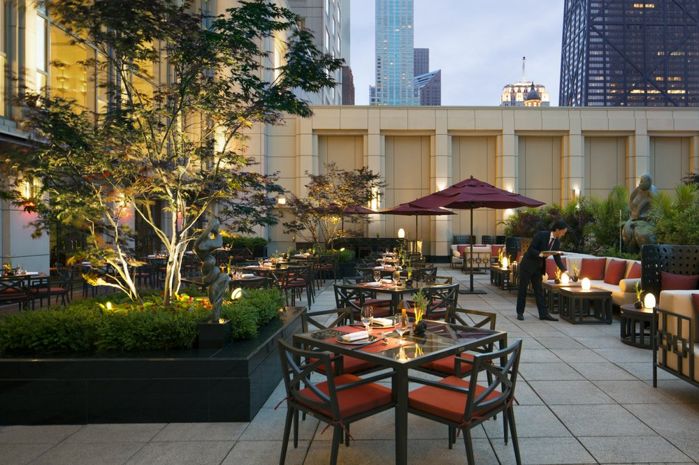 Shanghai Terrace - $$$$, River North, Chinese, Patio Seating