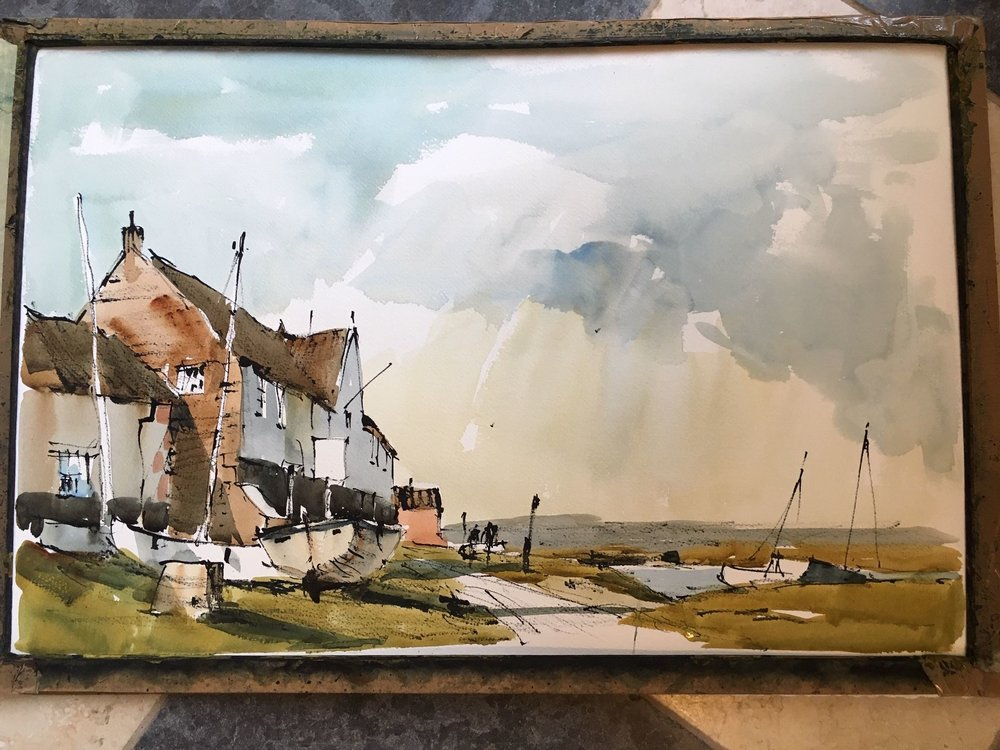 John Hoar demo at Burnham Overy Staithe