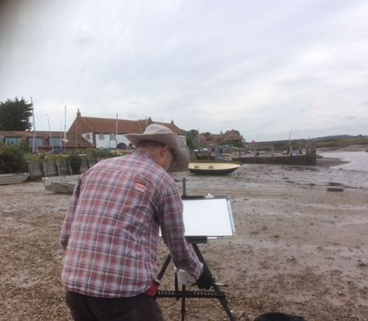 Jem Bowden demo Overy Staithe