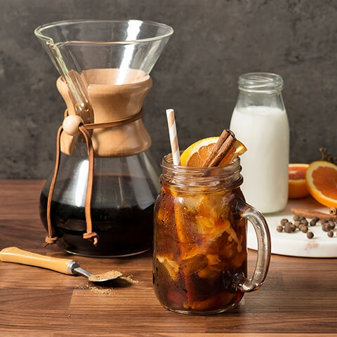Fall Spiced Ice Toddy