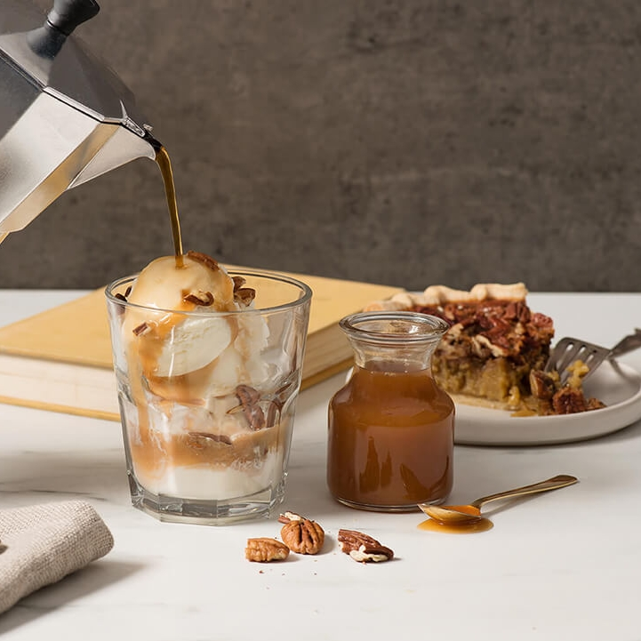 Pecan Pie Affogato