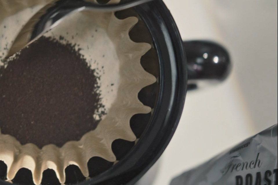 TIP:   Cone filters use a finer grind that resembles granulated sugar .