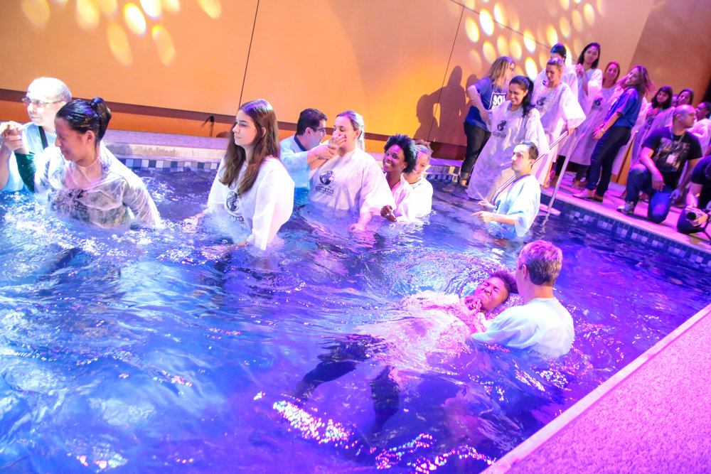 Próximo Batismo: 25/agosto - Classes de Batismo18/08 às 09h21/08 às 19h30