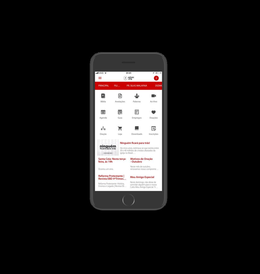 Você não precisa se despedir mais! - Baixe o app da ADVEC para manter-se atualizado e informado de tudo que acontece por aqui