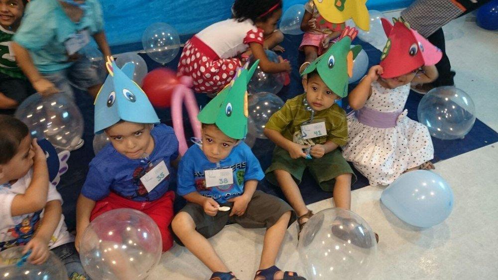 Turma de 2 a 3 anos | EBD Interligados Kids