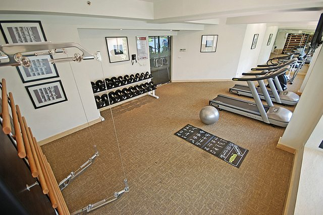 The Gym is Calling My Name.   Tara Angkor Hotel Fitness centre
