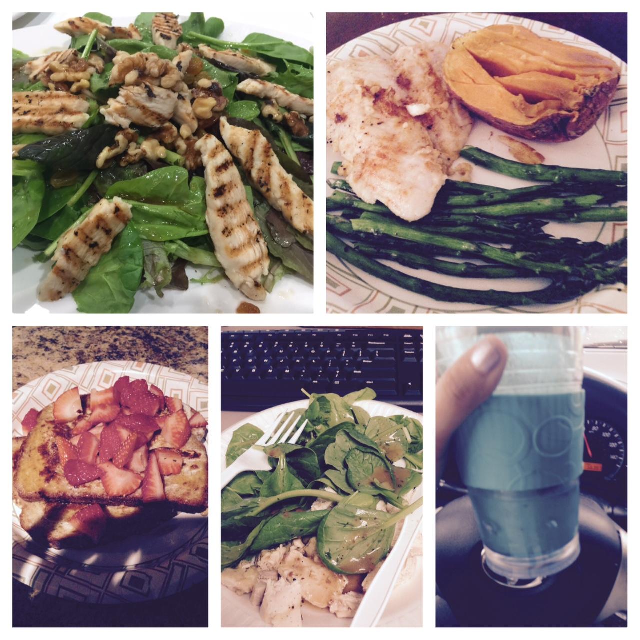 Food the last 3 days