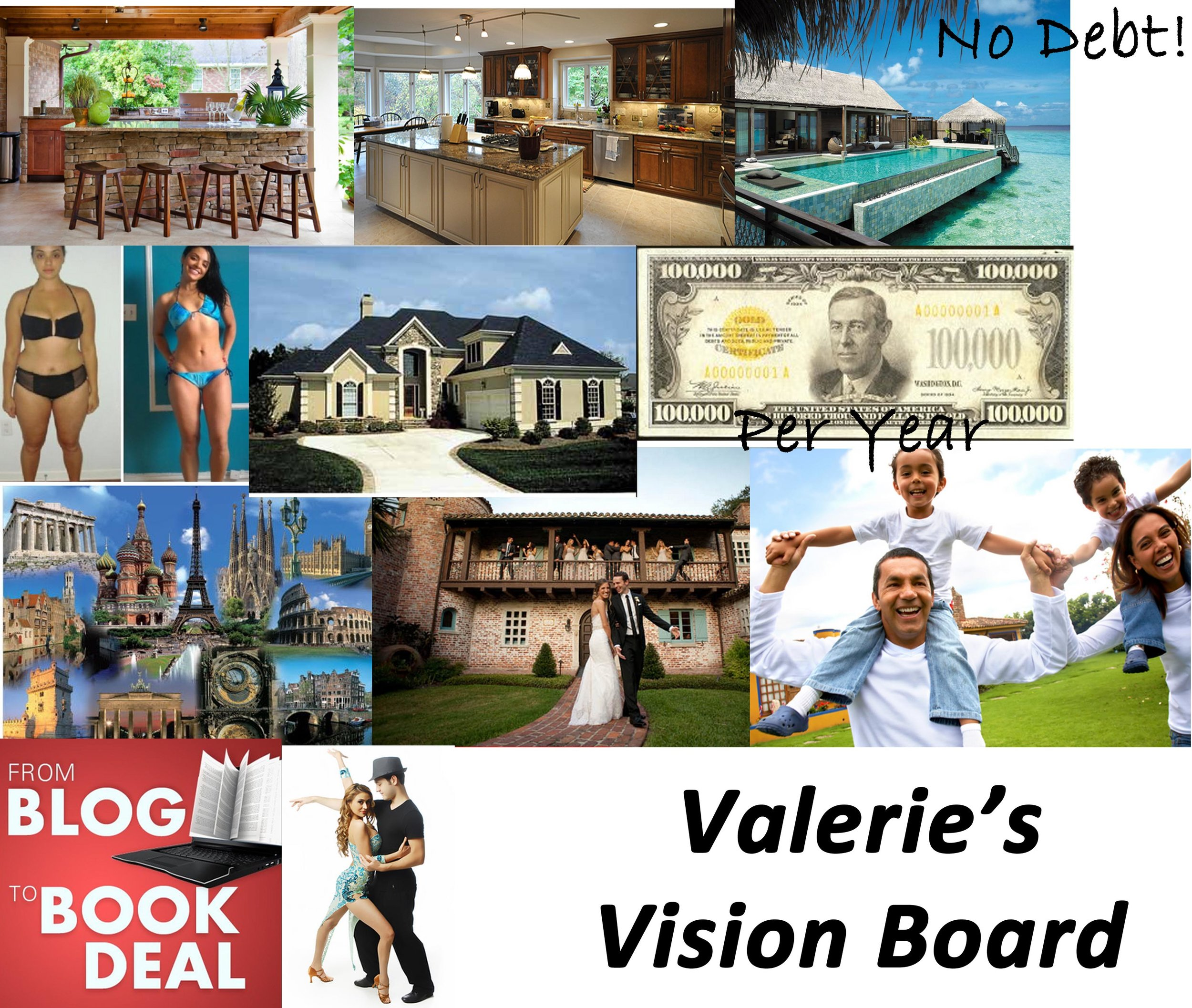 Year in Review, vision board
