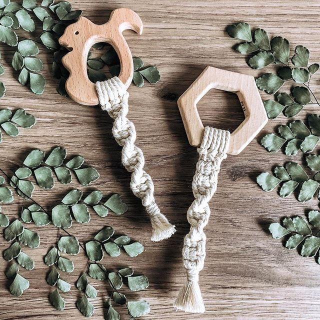 """A couple of new baby teether shapes hitting the online shop today! Plus updated the site with a mini restock. 🌟BONUS🌟 get free shipping for the next 24 hours with code """"GETTHEGOODS"""" 👌🏼"""
