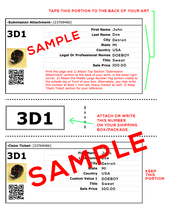 Sample ID Label