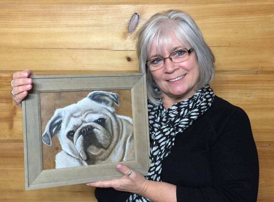 Pet Portraits by BrentNaughton.com #pets #dogs #dog #portrait #dogart #illustration #puppies #seniordogs #giftidea