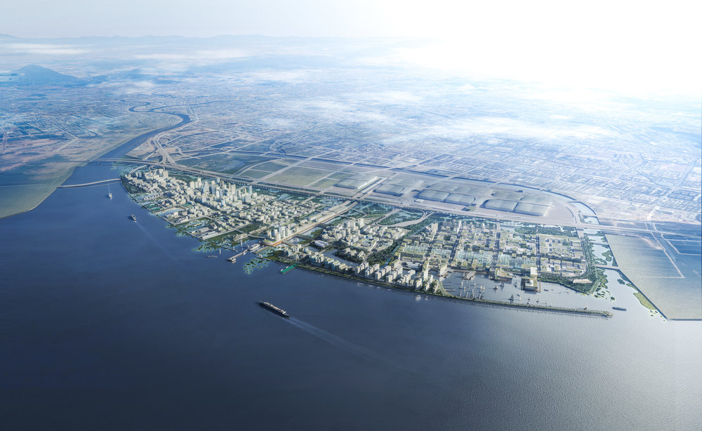 ....SHENZHEN NEW MARINE CITY URBAN DESIGN..    深圳海洋新城城市设计....