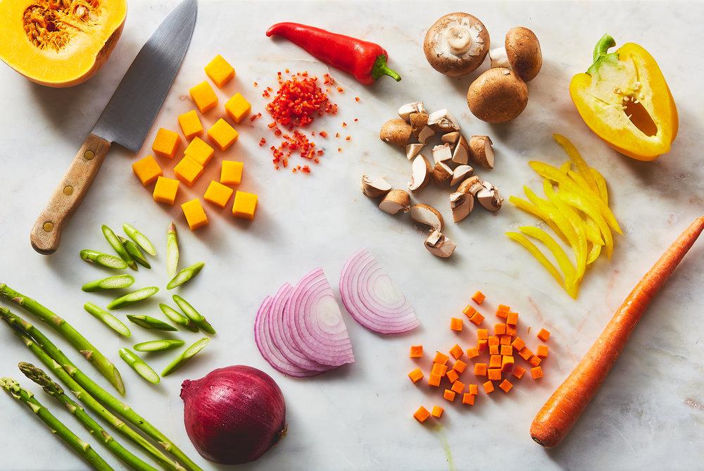 Start cooking -