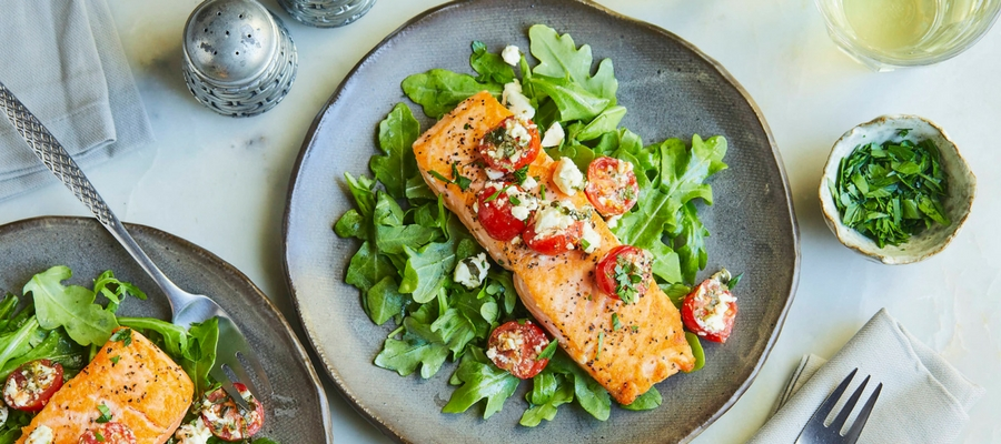 Pan Seared Salmon—Stella Metsovas