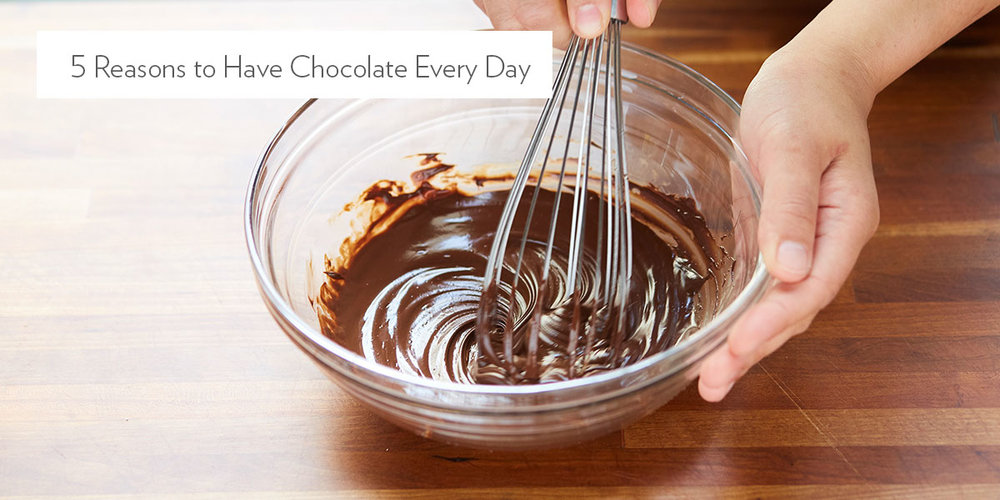 5 Reasons to Eat Chocolate Every Day