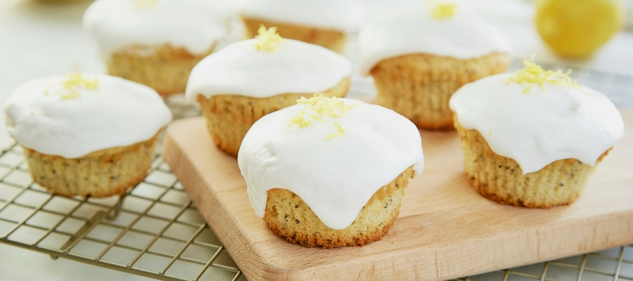 Lemon Chia Cupcakes  —  Foodstirs