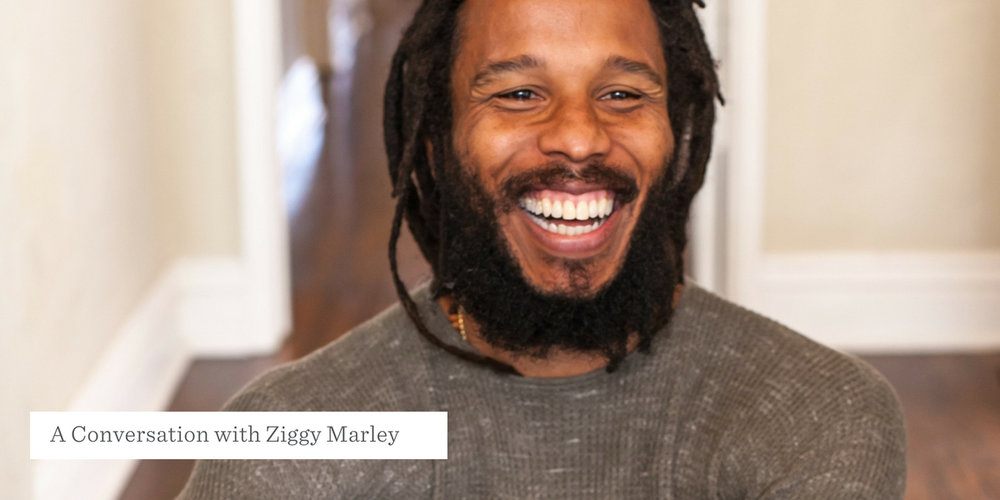 A Conversation with Ziggy Marley