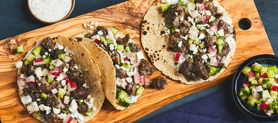 Greek Lamb Tacos — American Lamb