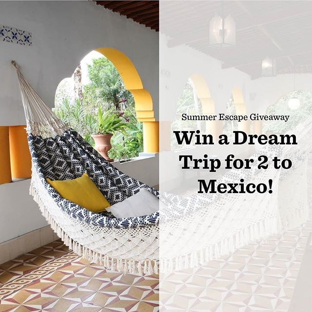 Escape to Mexico for the ultimate summer vacation. Win a 4-night stay at the Cabo Azul Resort for 2, $300 Chef'd Gift Card and more. Sweepstakes ends 7/30. Tap the link in our bio to enter.