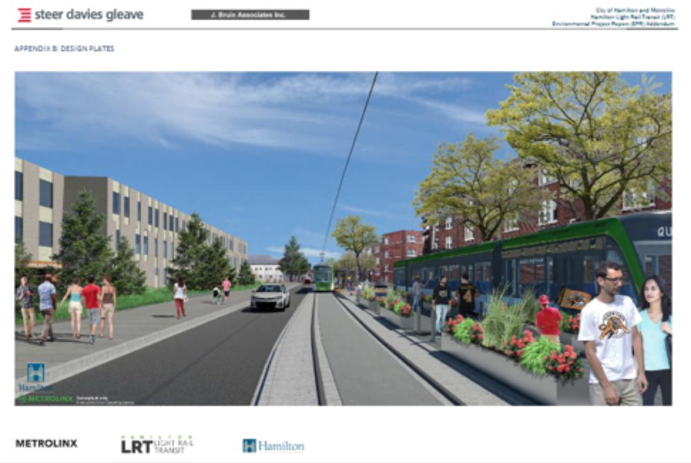 Rendering of LRT