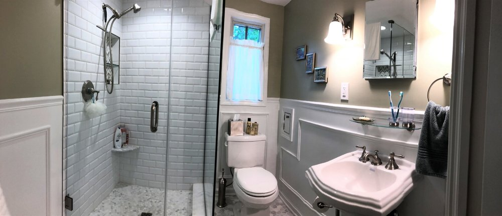 bathroom remodeling odell construction inc westlake ohio