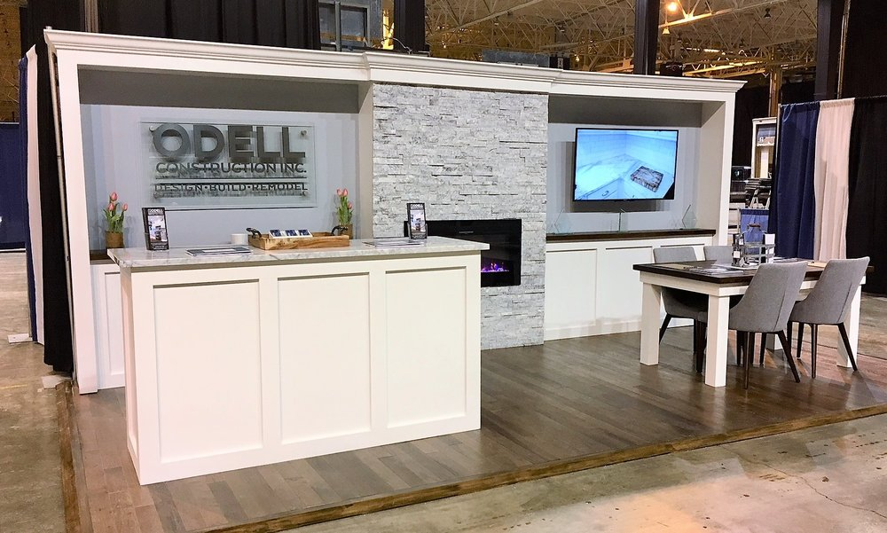 The Odell booth at the 2018 NARI Home Improvement Show