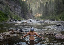The Middle Fork is famous for its half dozen hot springs, ranging from