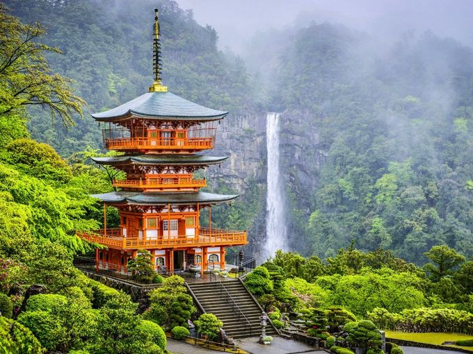 - Visit ancient temples set against spectacular backdrops