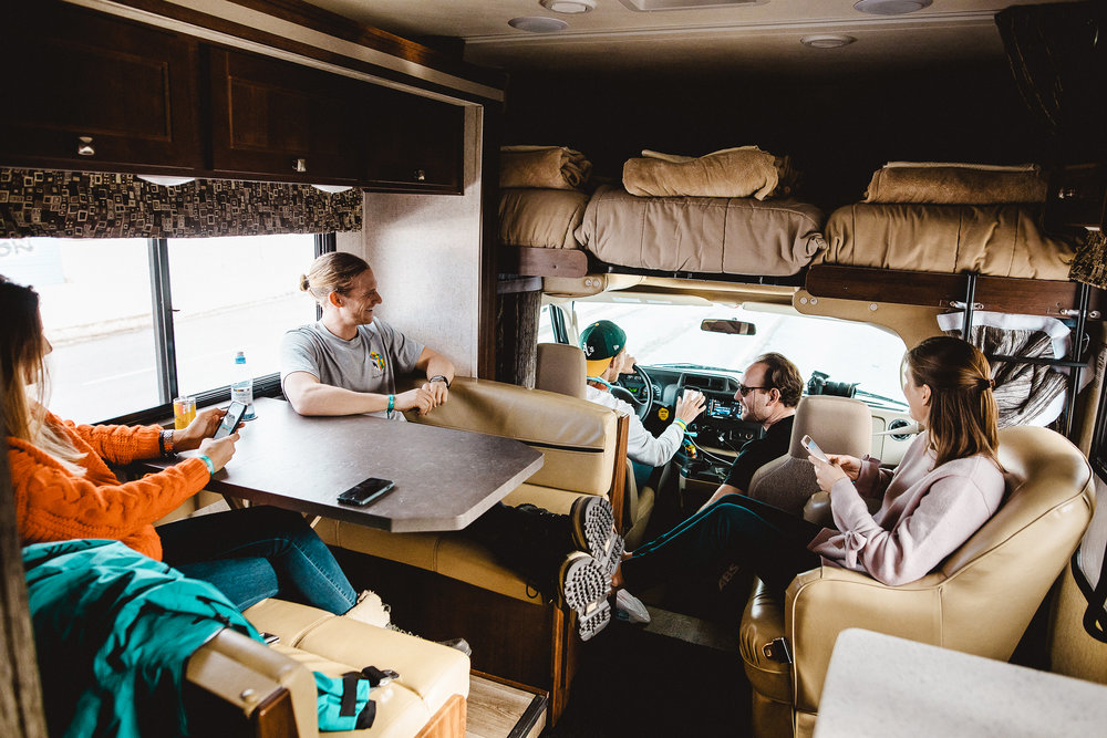 - your new Home for a weeK: This fully equipped recreation vehicle