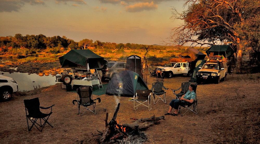 - spend 4 nights wild camping
