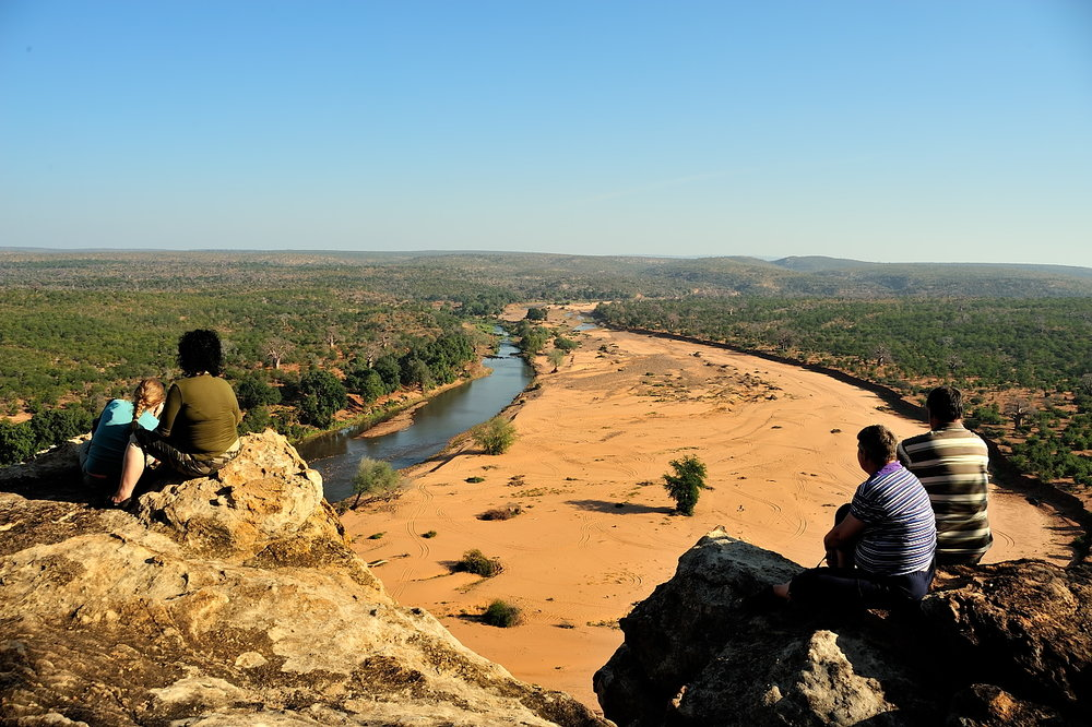 - views for days along the letaba river