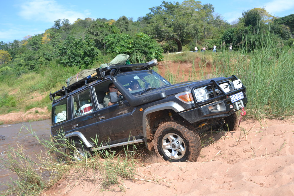 - challenging offroading to access out there locations