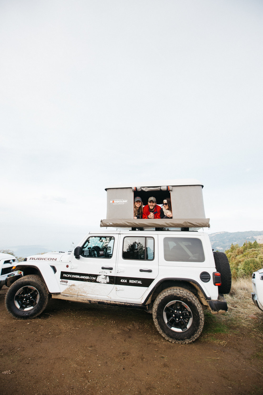 Overlanding Down Big Sur