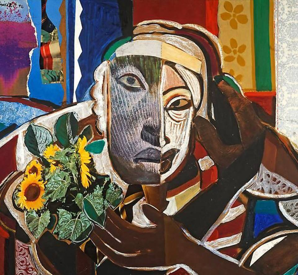 @dcmooregallery  at  @artbasel  Miami Beach is devoted to paintings by David Driskell, NA from the 1960s and 70s, a turbulent period in American history.