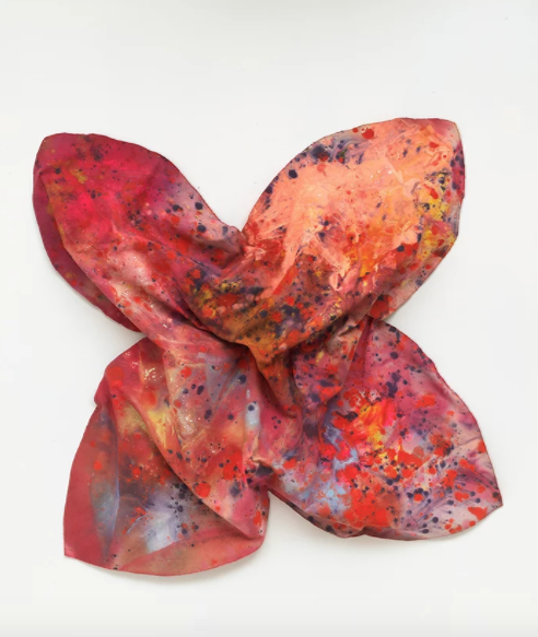 Sam Gilliam,  Idle Twist (1972). Courtesy of Tom Powel Imaging. © 1972 Sam Gilliam.