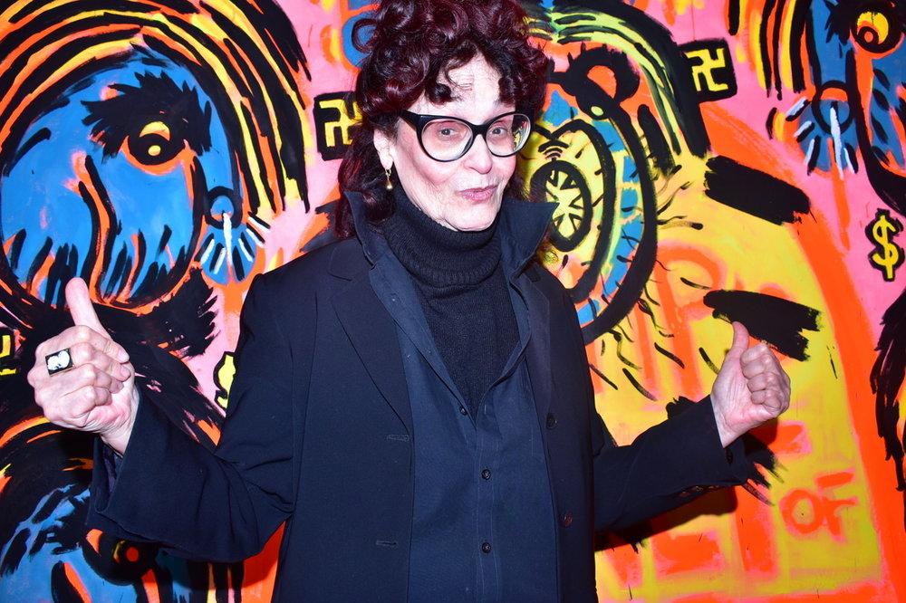 Judith Bernstein photo by Adam Lehrer