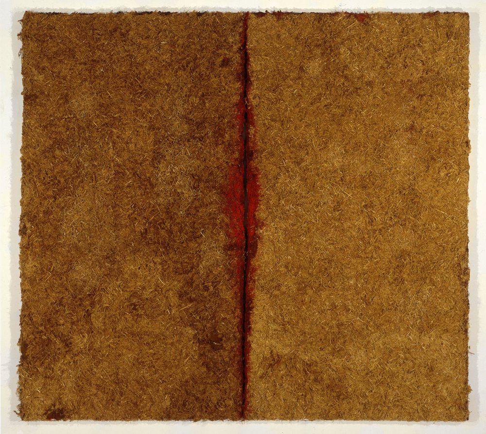 Untitled, 1995, mixed media, 74h x 82w in (187.96h x 208.28w cm)