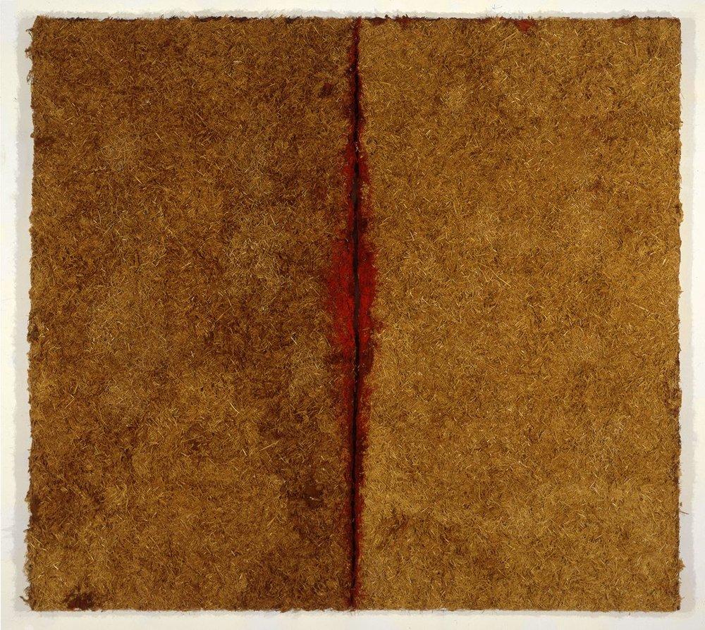 Untitled, 1995, mixed media, 74h x 82w in (187.96h x 208.28w cm)