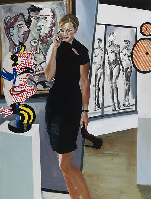 Eric Fischl Her, 2016. © Eric Fischl, 2018. Private collection