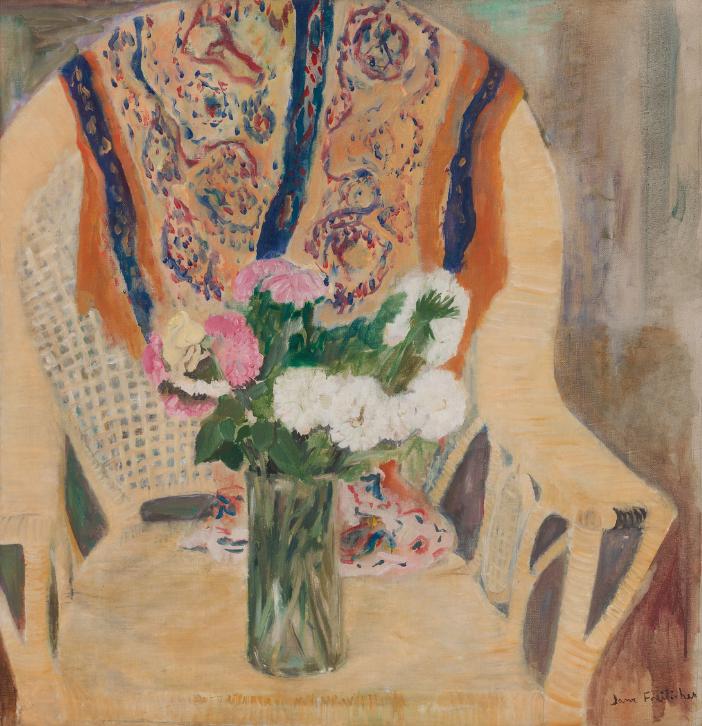 Flowers in Armchair, 1956