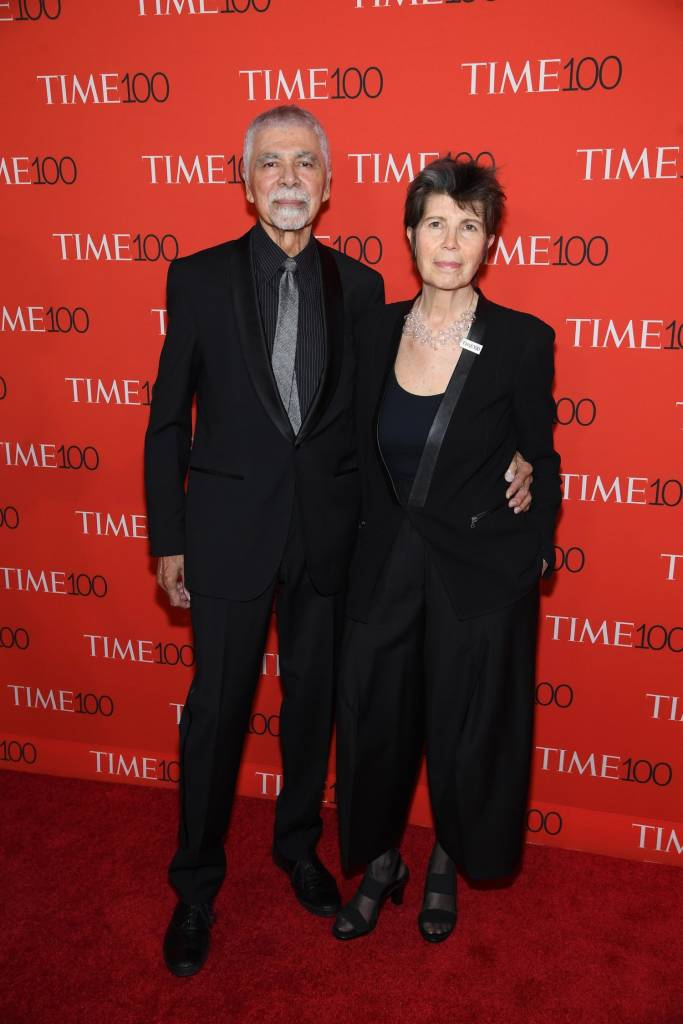 Elizabeth Diller, NA, attends the TIME 100 Gala with partner Ricardo Scofidio.   Photo courtesy DS+R