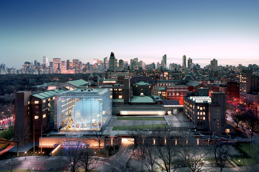 American Museum of Natural History's Rose Center for Earth and Space, New York, completed in 2000.