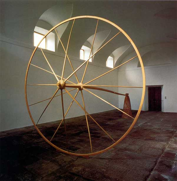 Martin Puryear,  Desire  (1981). Collection of Panza di Buono, Varese, Italy. Photo courtesy of McKee Gallery, New York.