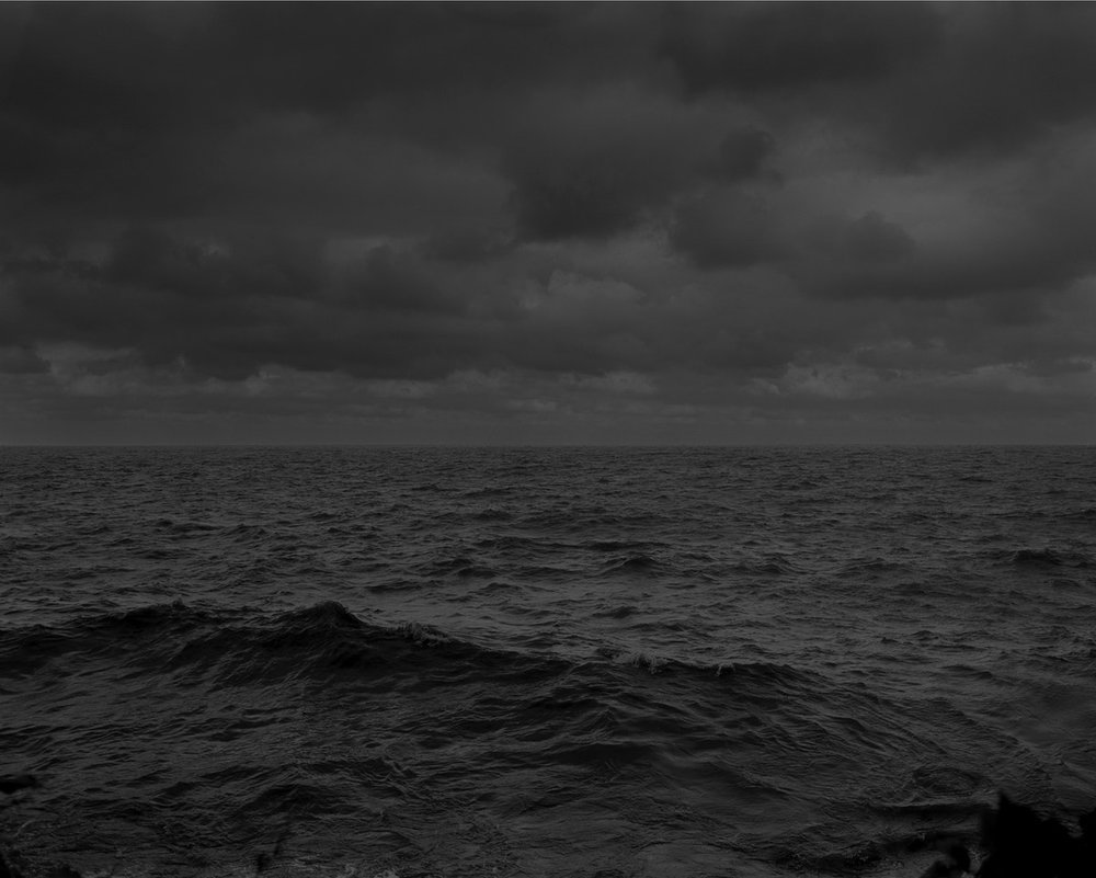 Untitled #25 (Lake Erie and Sky) , from the series  Night Coming Tenderly, Black , 2017. Dawoud Bey. Rennie Collection, Vancouver. © Dawoud Bey.