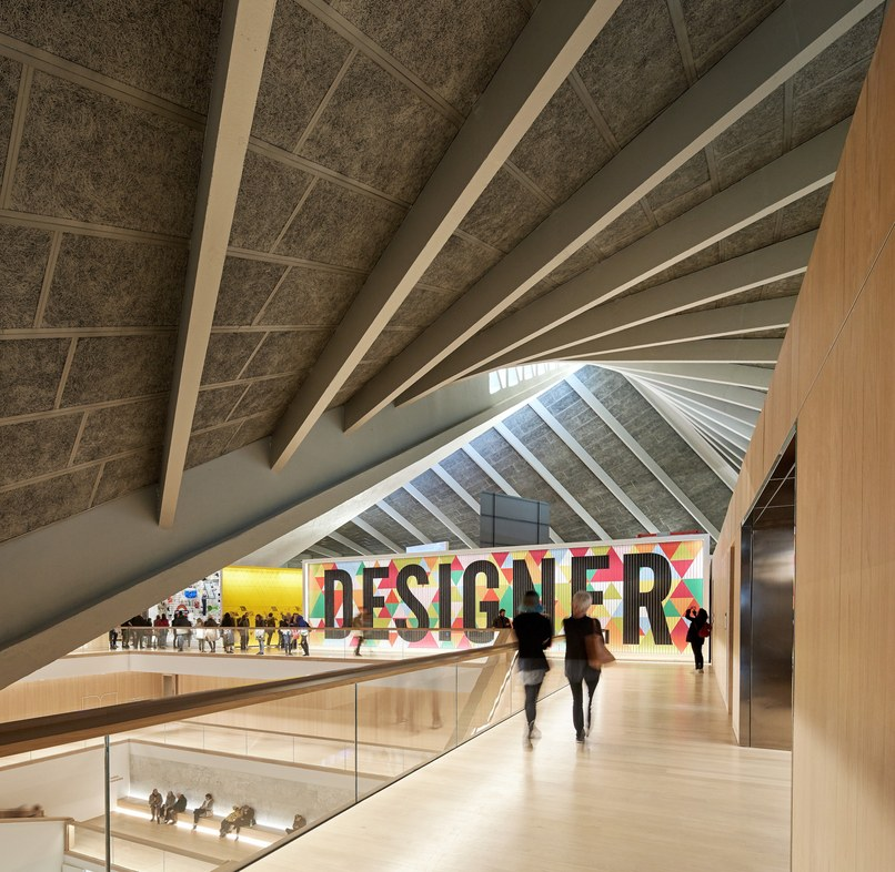 Inside the John Pawson-designed London Design Museum, where the David Adjaye exhibition will be held. Photo: Hufton+Crow